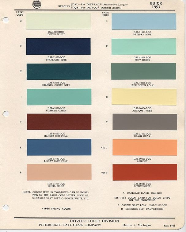 Buick green color chart google search also chevrolet paint chips auto colors codes rh pinterest