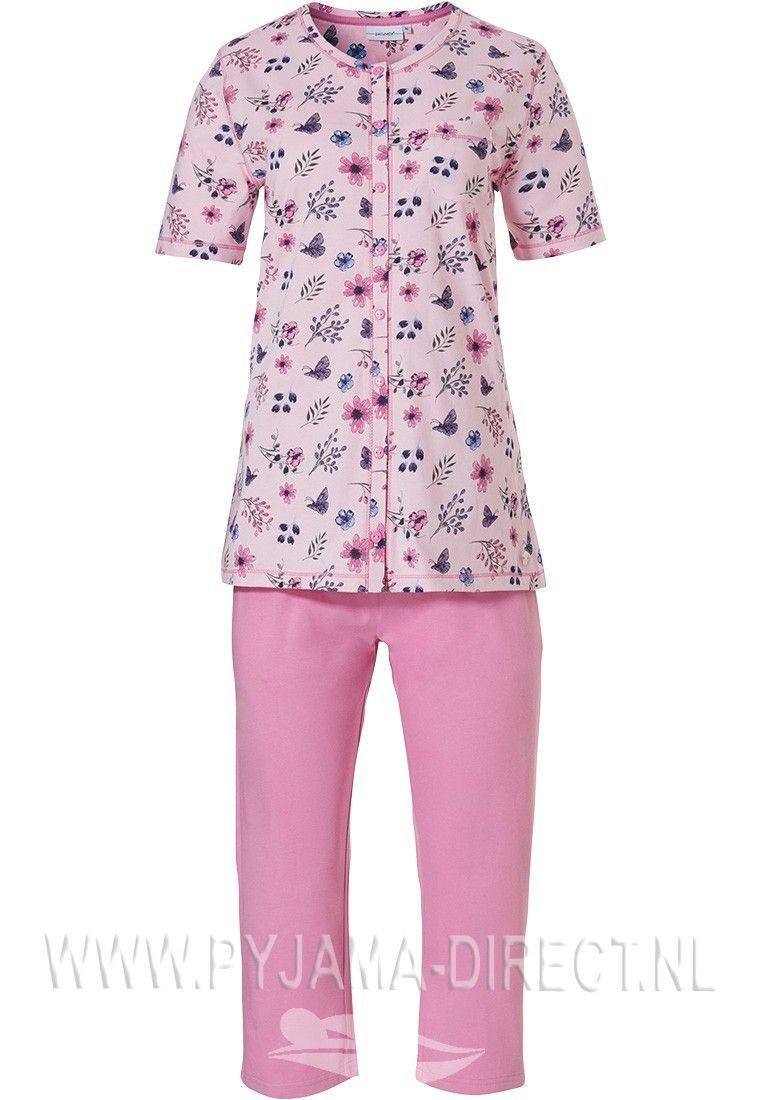 d70b6d60c7f9f48e1853da56033128d0 - Dames Pyjama Met Korte Broek