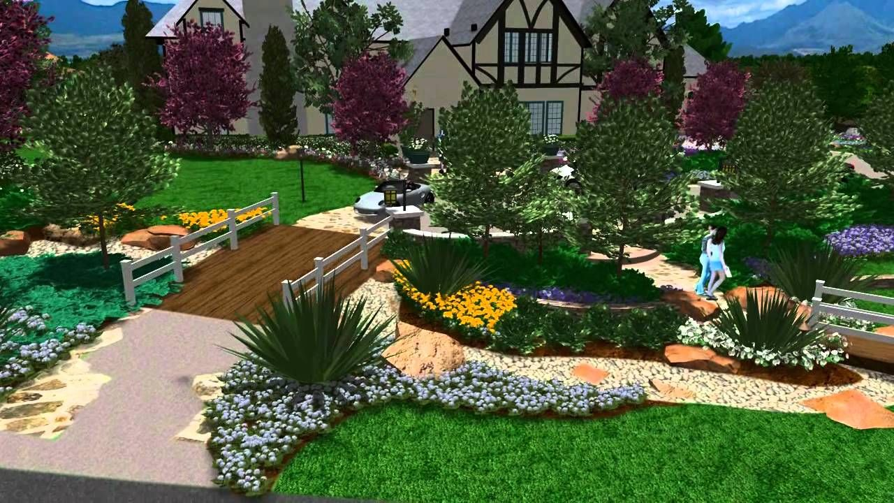 3d Landscape Design Virtual Presentation Studio Presents Garden