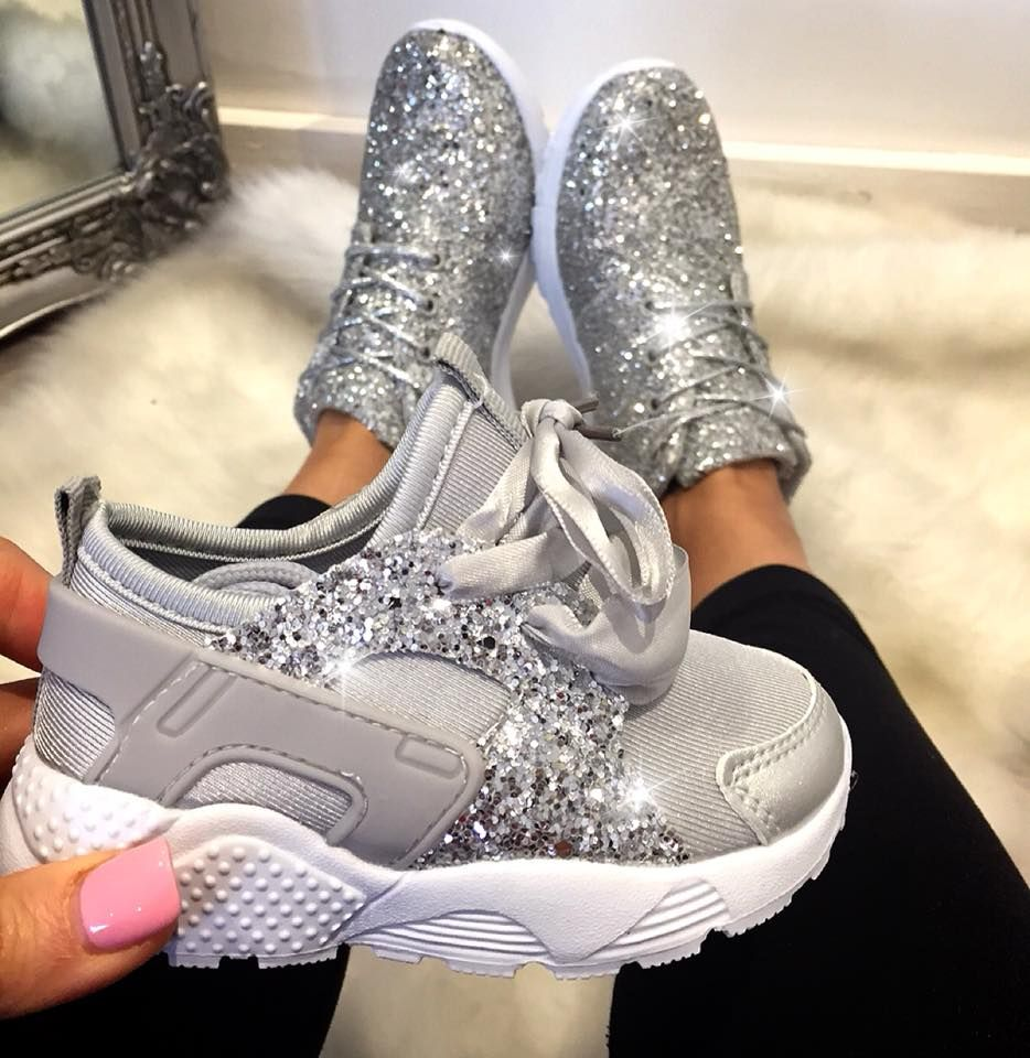 10 Best sparkly trainers & glitter