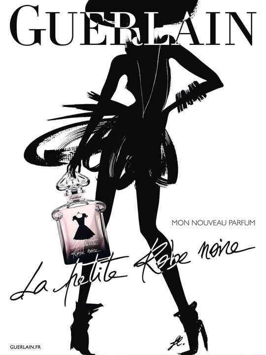 La petite robe noire guerlain cerise