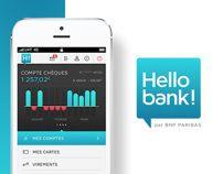 Hello Bank Iphone App Paribas Cartes Banque
