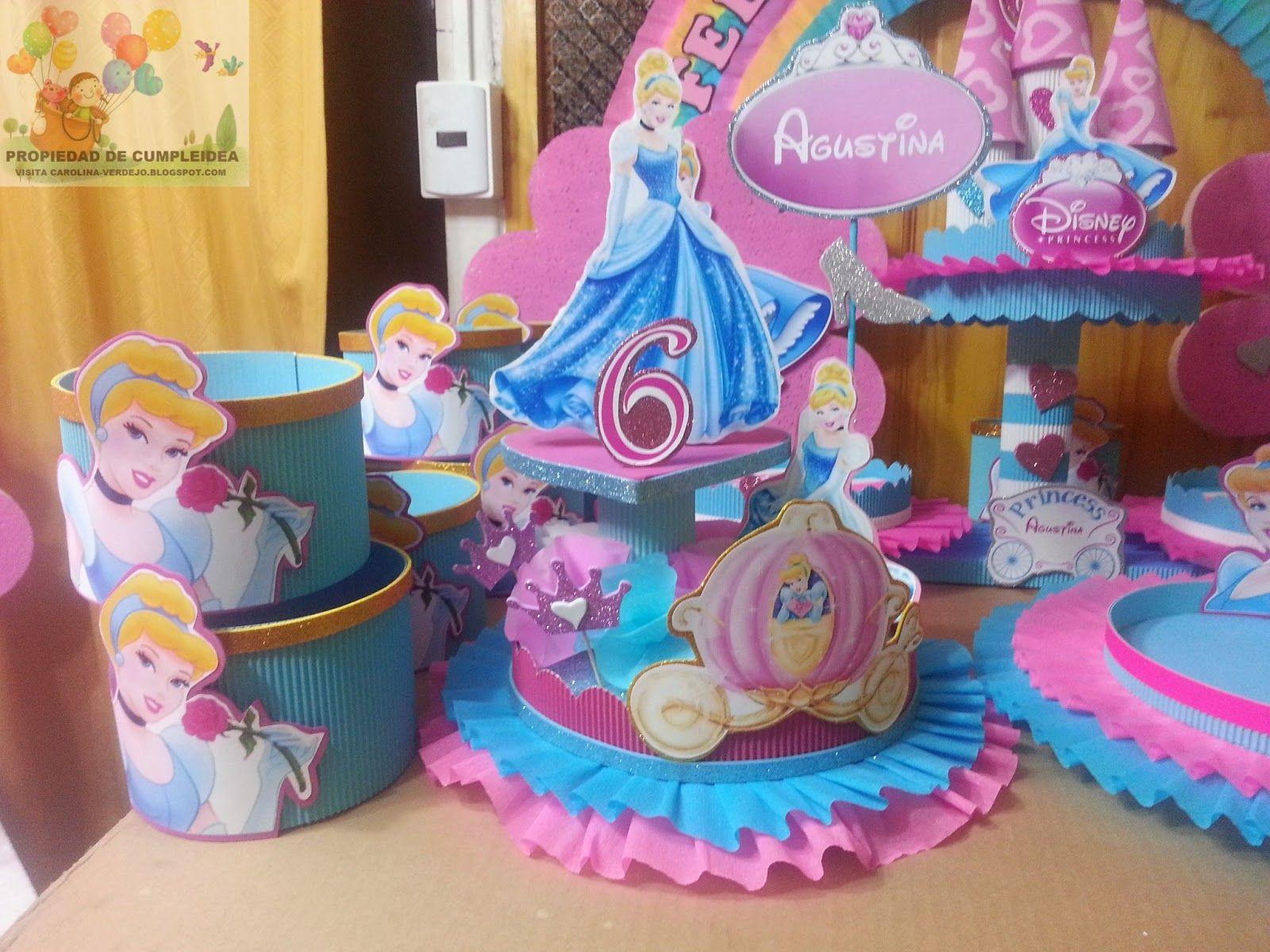 Carolina verdejo decoraciones infantiles google search - Fiestas infantiles princesas disney ...