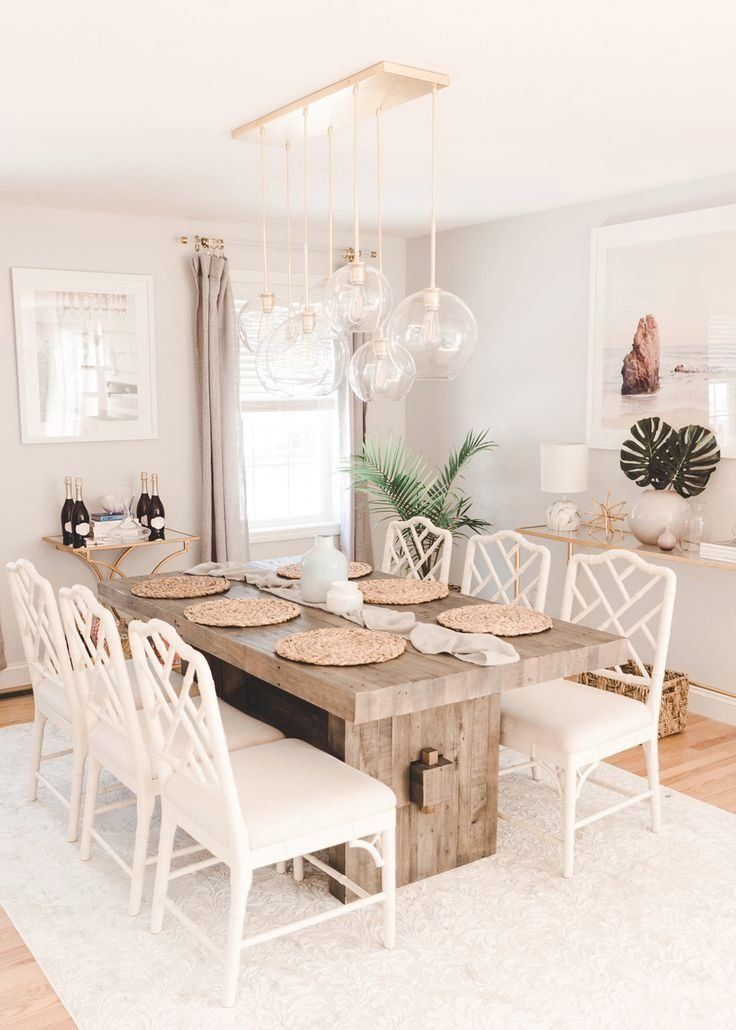 West Elm Emmerson Reclaimed Wood Dining Table Review with Ballard Design Dayna Chairs WestElm MyWestElm EmmersonTable homeDecor DiningRoomTable RusticTable BallardDesigns daynasidechairs daynachairs #table #tabledecorations #breakfasttable #dinnertable