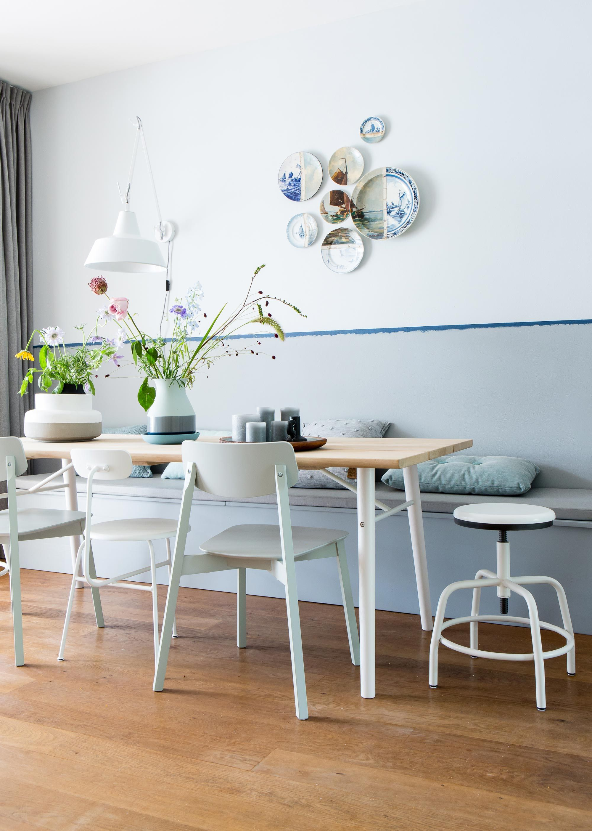 gem tlich heller essplatz sch nstes wohnen pinterest esszimmer haus und wohnzimmer. Black Bedroom Furniture Sets. Home Design Ideas