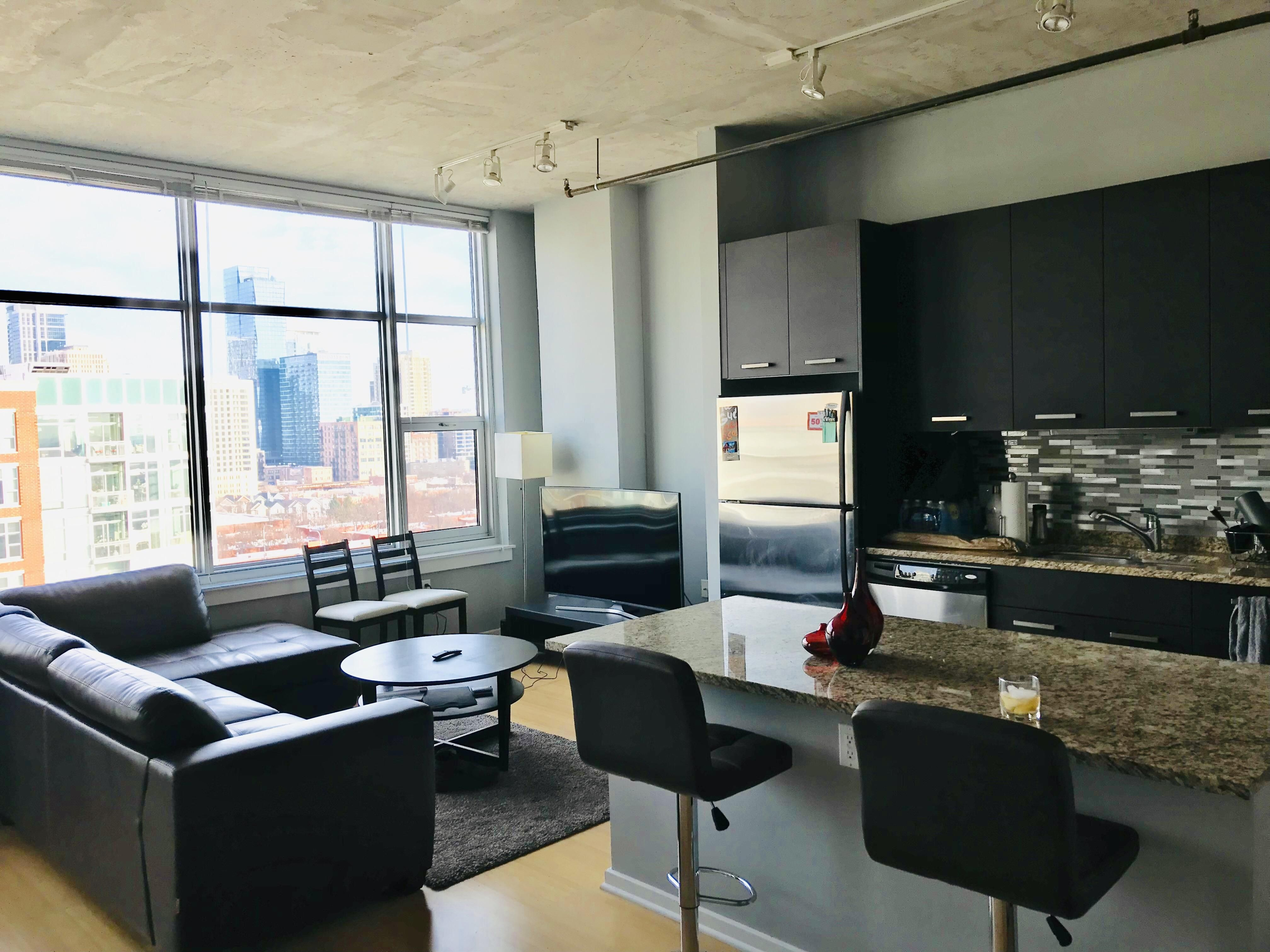 Recently Moved To My Chicago South Loop Apartment Man Room