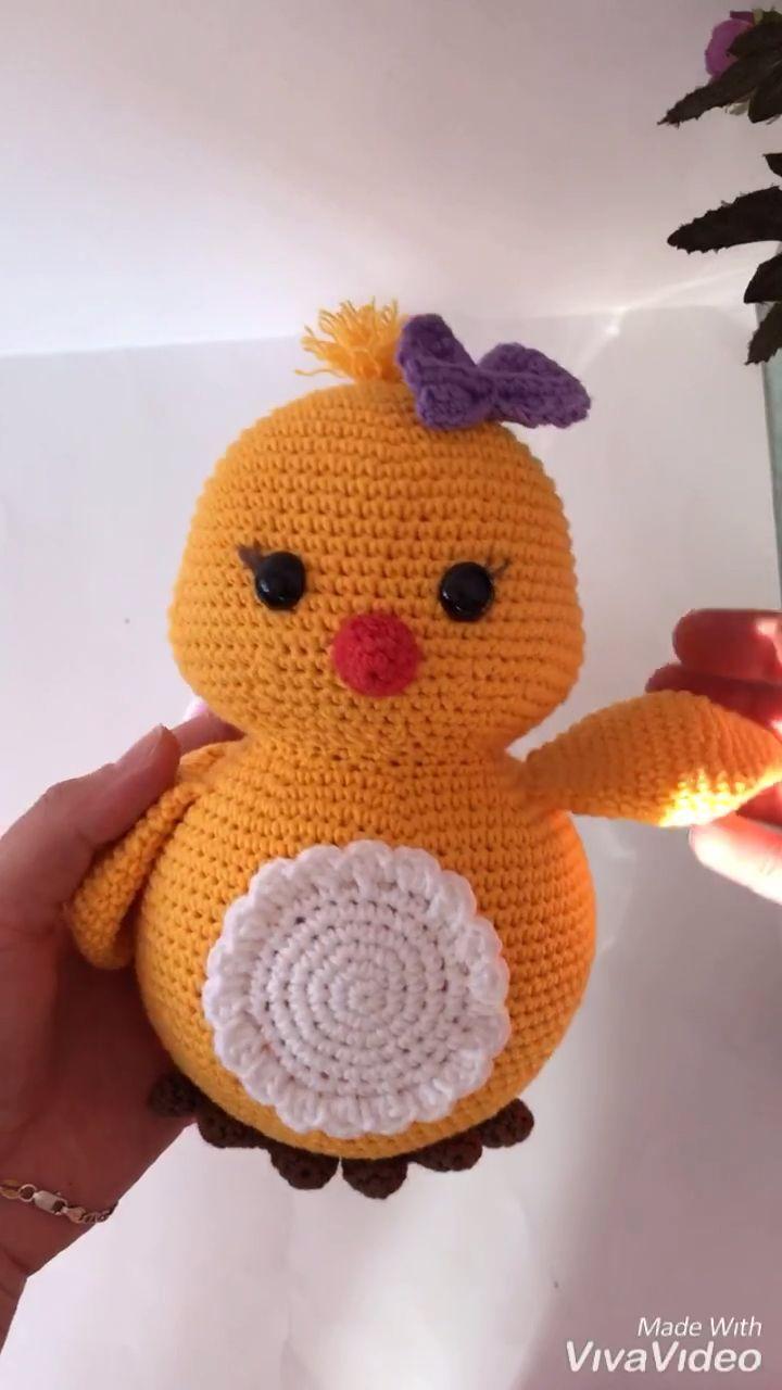 Ravelry: Cute Chicken pattern by Nadegda Zatenackaya