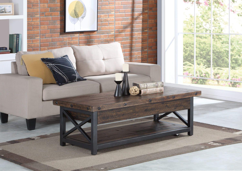 Carpenter Lift Top Coffee Table By Flexsteel Hom Furniture Coffee Table Living Room Coffee Table Lift Top Coffee Table [ 1063 x 1500 Pixel ]