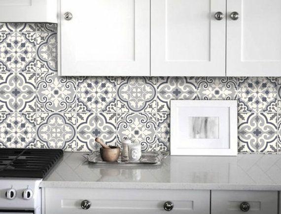 tile stickers decal for kitchen bathroom back splash floor bmix6 pinterest aufkleber. Black Bedroom Furniture Sets. Home Design Ideas