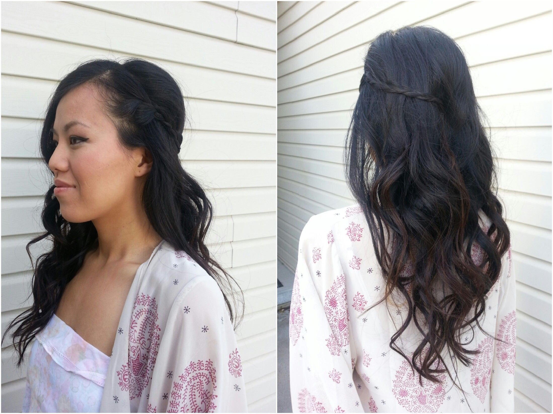 curls, braid, long hair, wedding hair, wedding looks, updos, | Doll ...