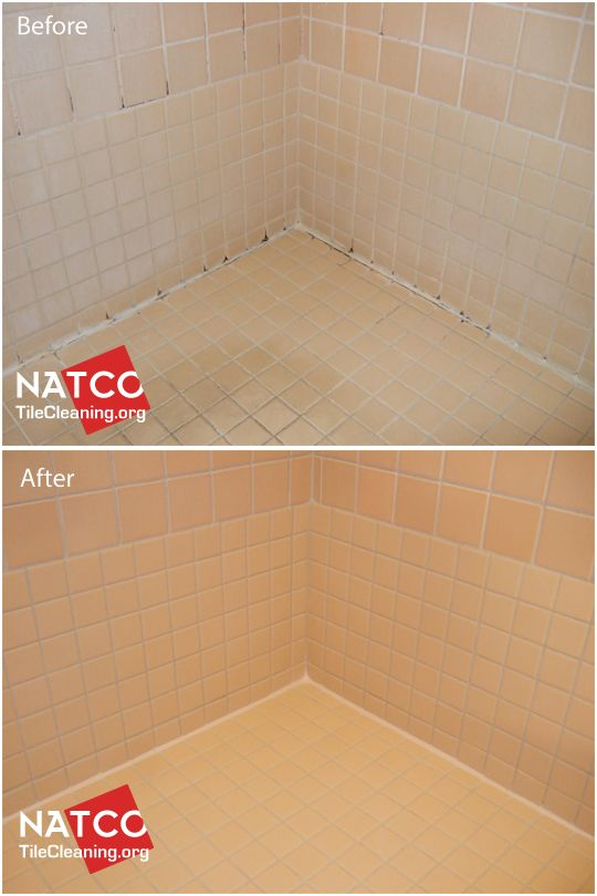 Shower Cleaning And Using Epoxy Grout