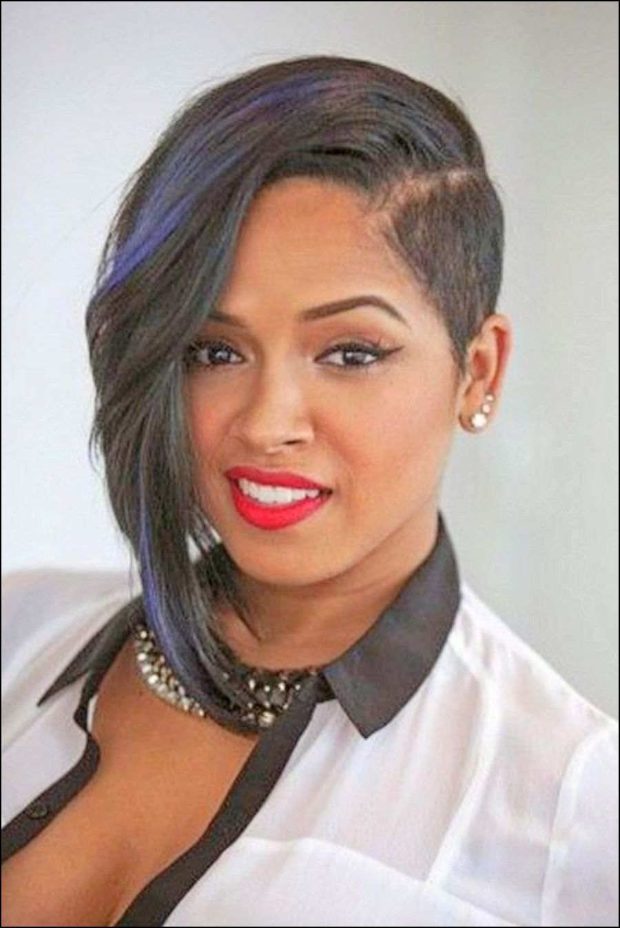 Asymmetrical Haircuts For Black Women Short Asymmetrical Haircut