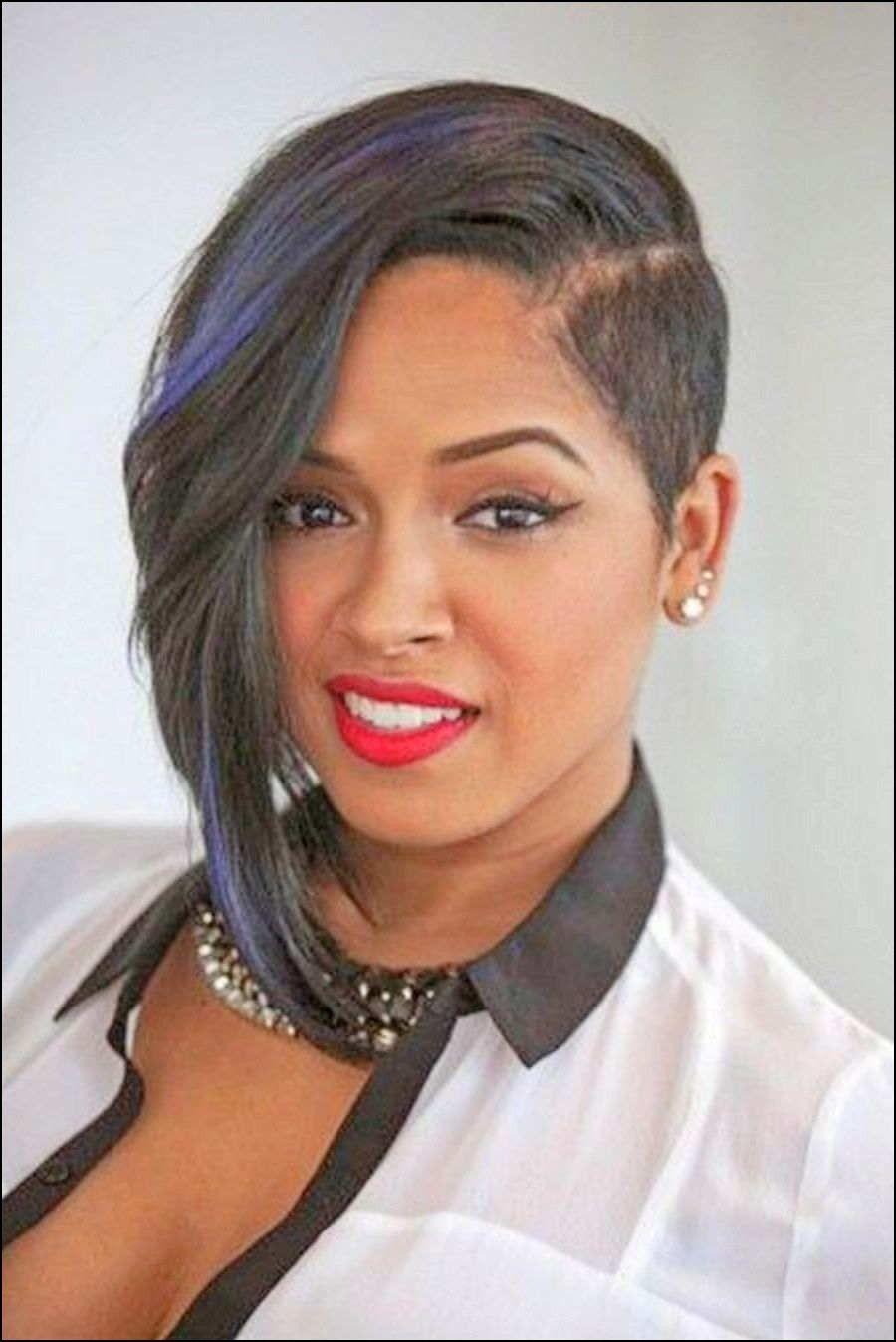 Asymmetrical Haircuts For Black Women Short Hair Trends Short Asymmetrical Hairstyles Short Asymmetrical Haircut