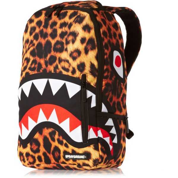 Sprayground Leopard Shark Deluxe Backpack