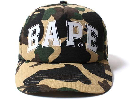 1st Camo Snapback Cap by BAPE  d52efa4d9eb