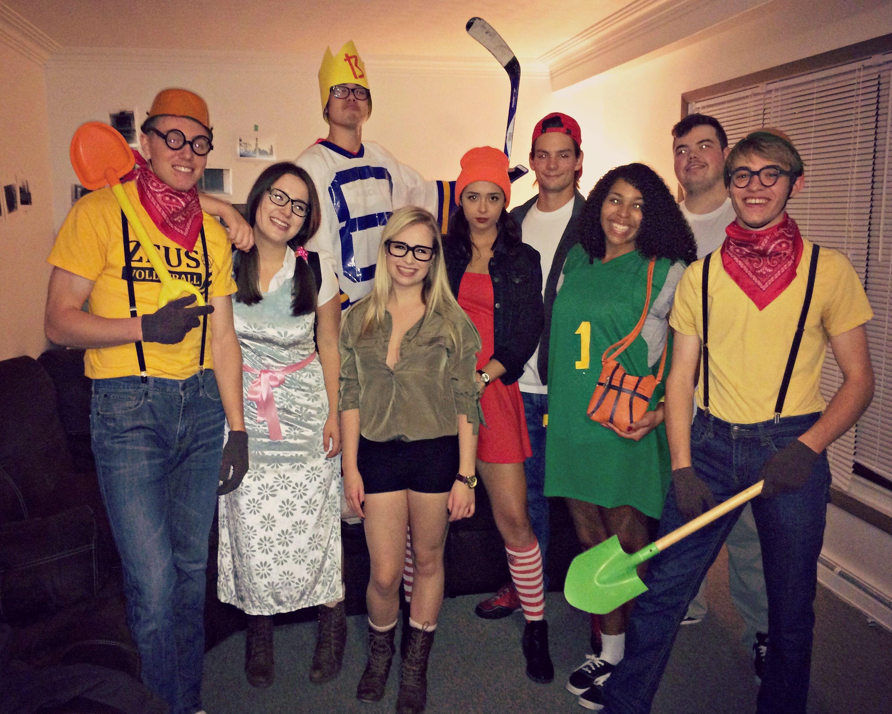 recess halloween costume #recess #halloween #college #groupcostume