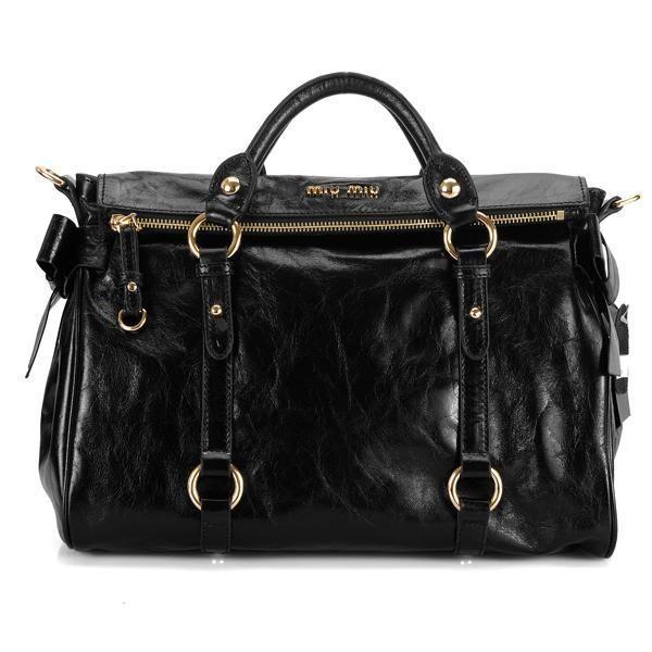 a9d2ea1932a Miumiu Sling bag Cowhide 1211 Black! Only  172.5USD Miu Miu Handbags, Black  Bows