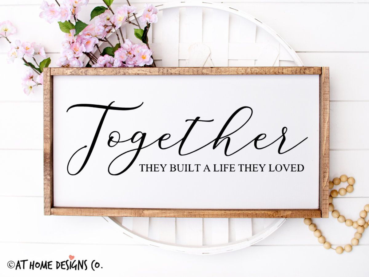 Download Together They Built a Life They Loved SVG / Valentines Day ...