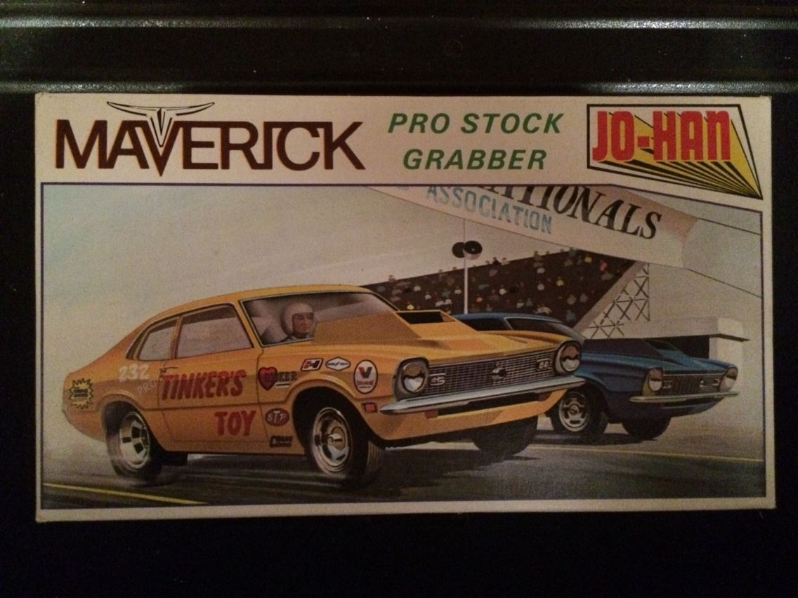 Model Kit Box Art Maverick Model Cars Kits Car Model Model