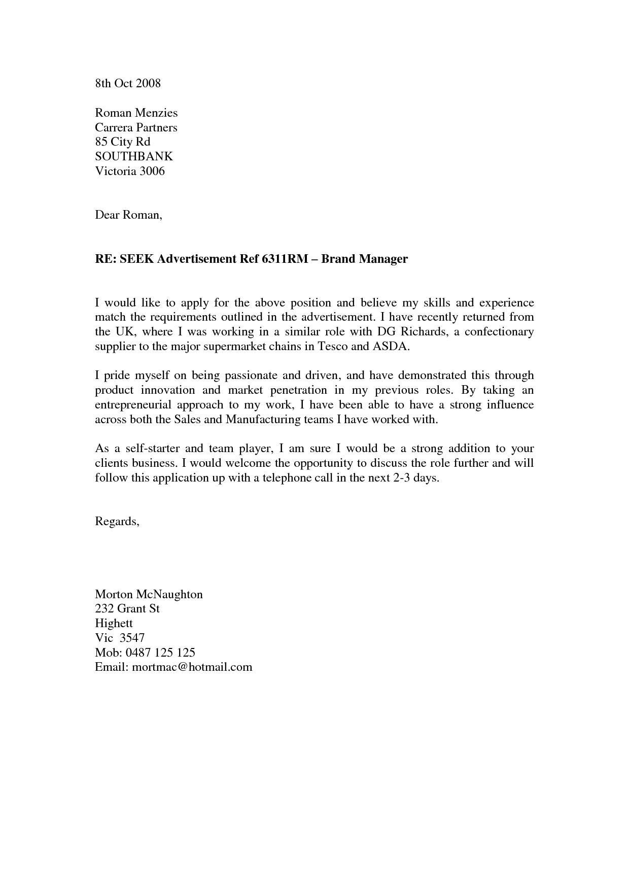 Cover Letter For Job Application As A Teacher An Effective Cover Letter For A Teacher