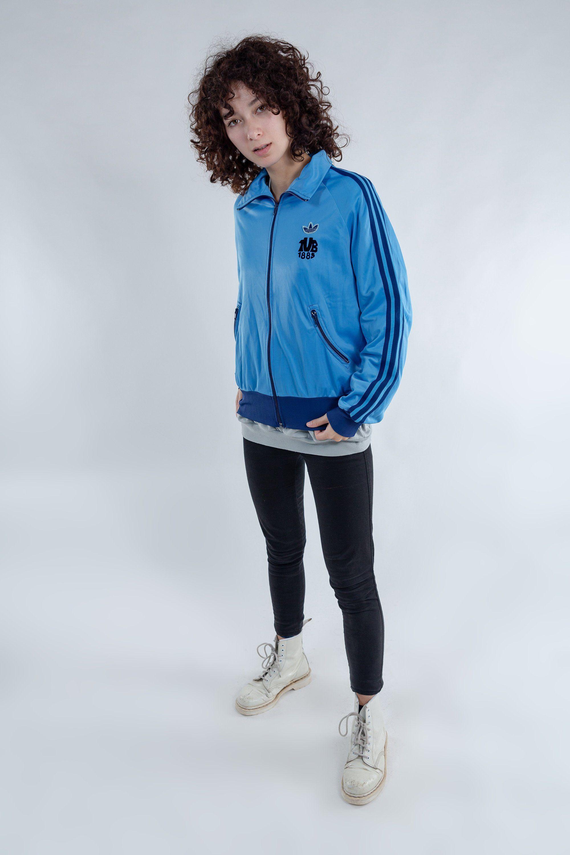Vintage Adidas sports jacket / Oversized 70s Adidas sport