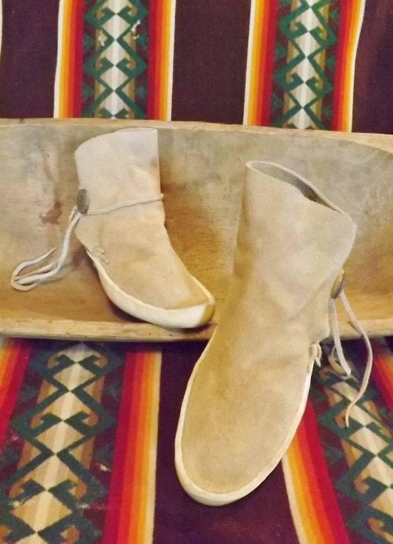 c57a466736b1 Authentic Handmade Navajo Kaibab Moccasins by PepperZCantina