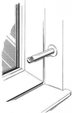 safewolff einbruchschutz riegel selber machen. Black Bedroom Furniture Sets. Home Design Ideas