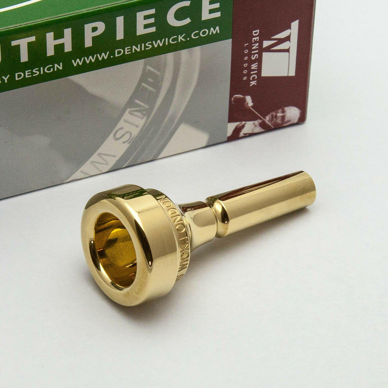 7 NEW! Genuine Parduba 24K Gold Double Cup Cornet Mouthpiece