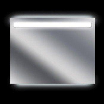miroir lumineux avec clairage intgr l90 x h70 cm terzo leroy merlin