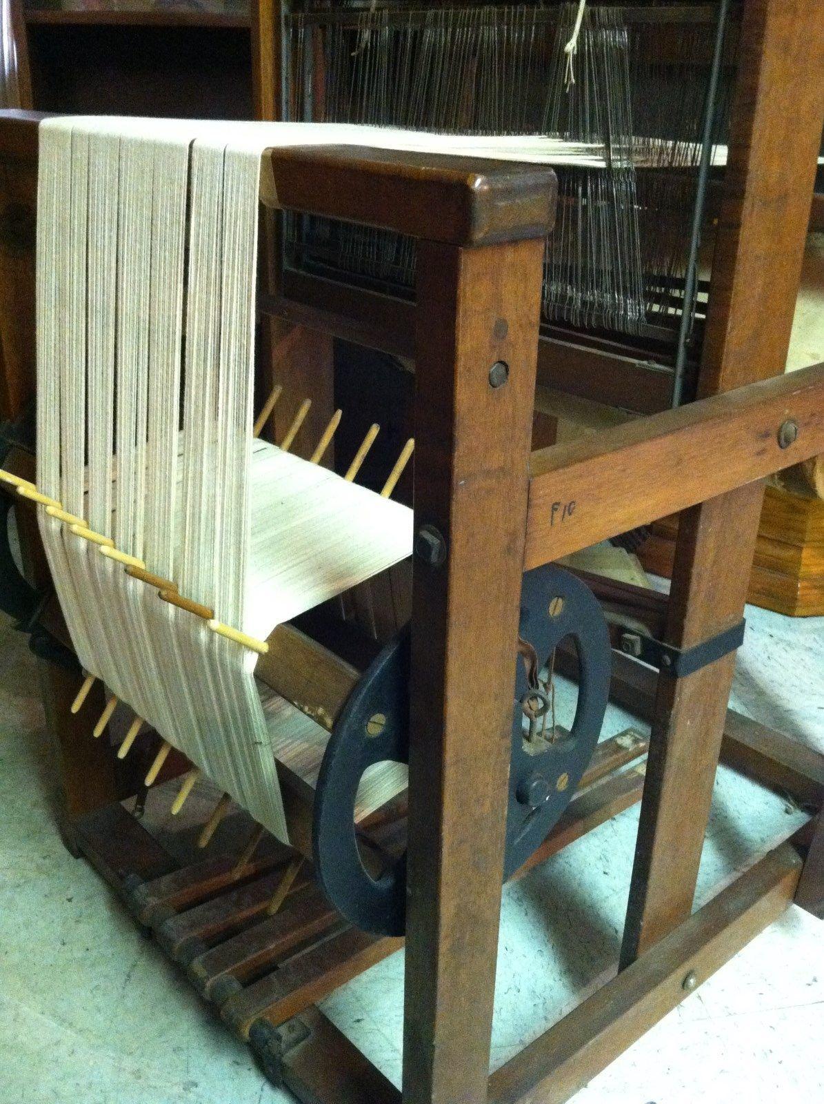 Antique Weaving Loom J L Hammett Co Cambridge Newark Shuttles Bench Vintage  | eBay