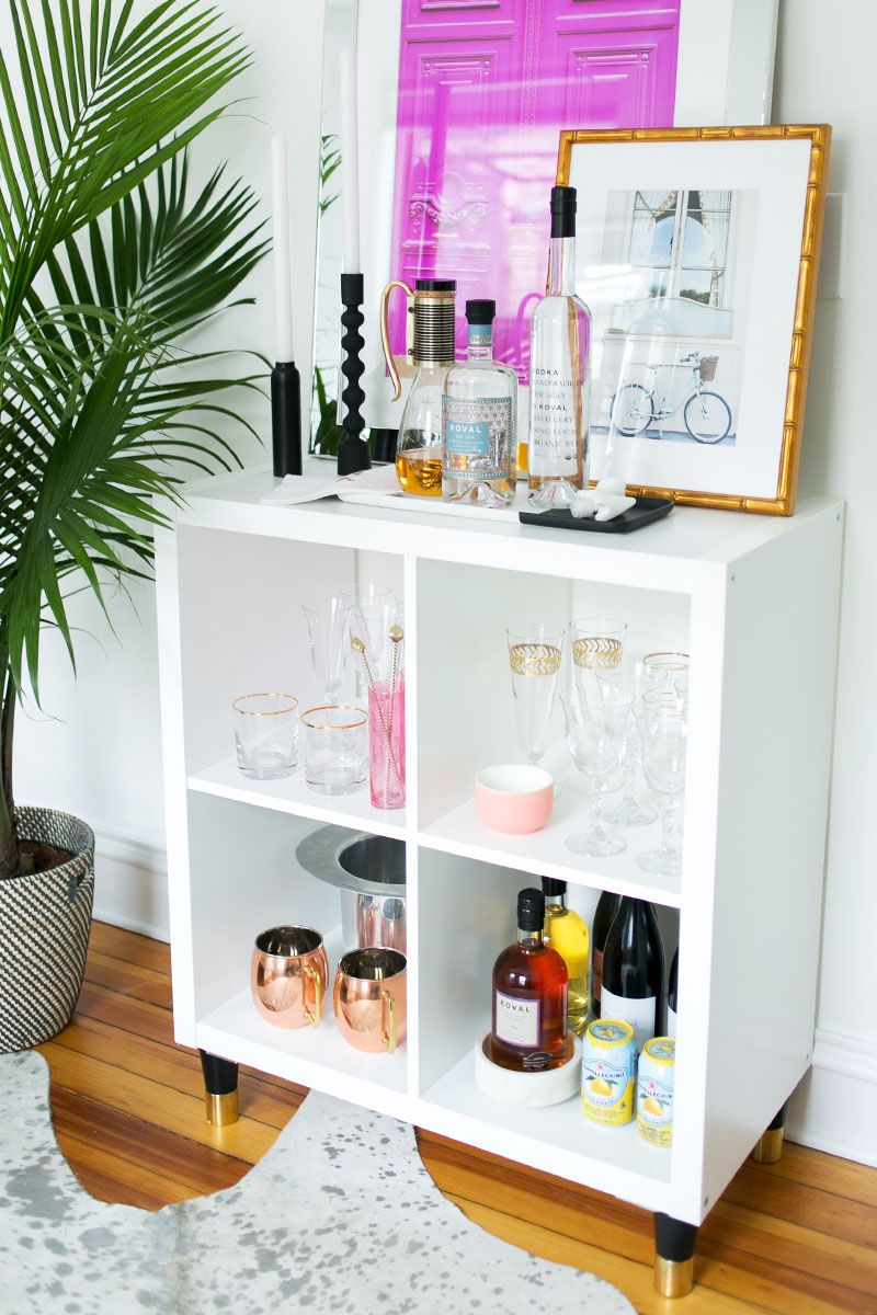 3 Ways To Style And Use Ikea S Kallax Expedit Shelf Akron House