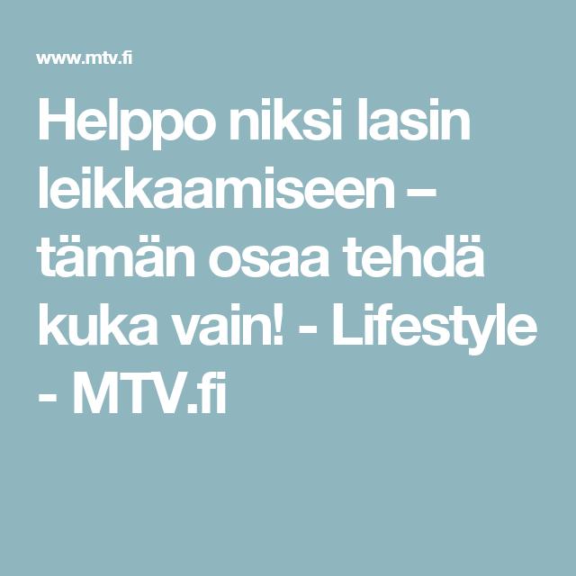 Helppo niksi lasin leikkaamiseen – tämän osaa tehdä kuka vain! - Lifestyle - MTV.fi