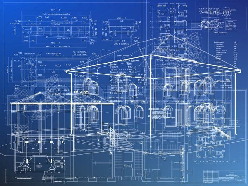 Stock image of u0027blueprint - arc itecture house plan background High - new blueprint architects pty ltd