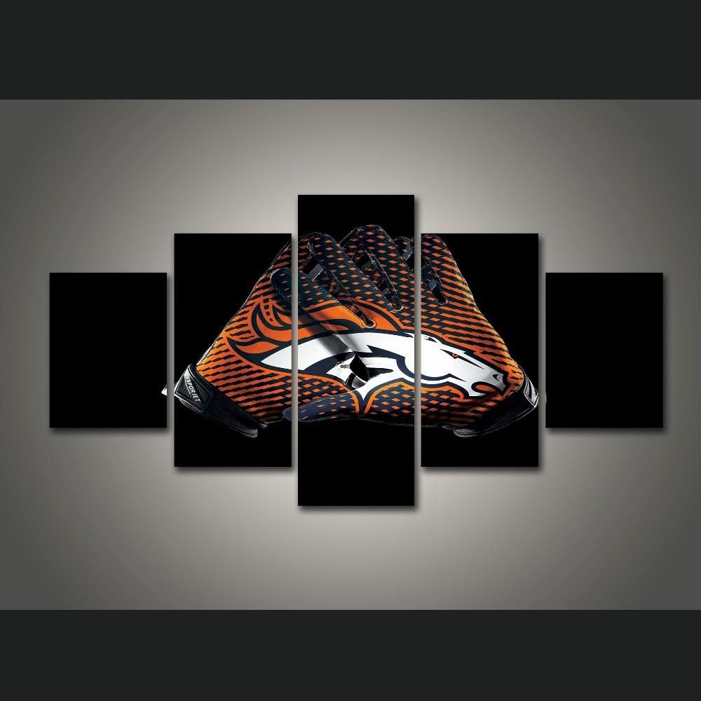 colors well broncos decor canada kitchen wall also denver as