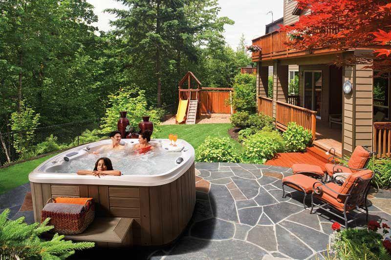 30 Stunning Garden Hot Tub Designs | Landscape design | Pinterest ...