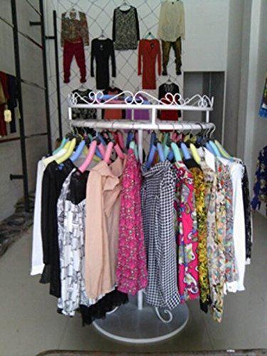 Amazon Com Commercial Grade Circular Clothing Garment Rack Metal