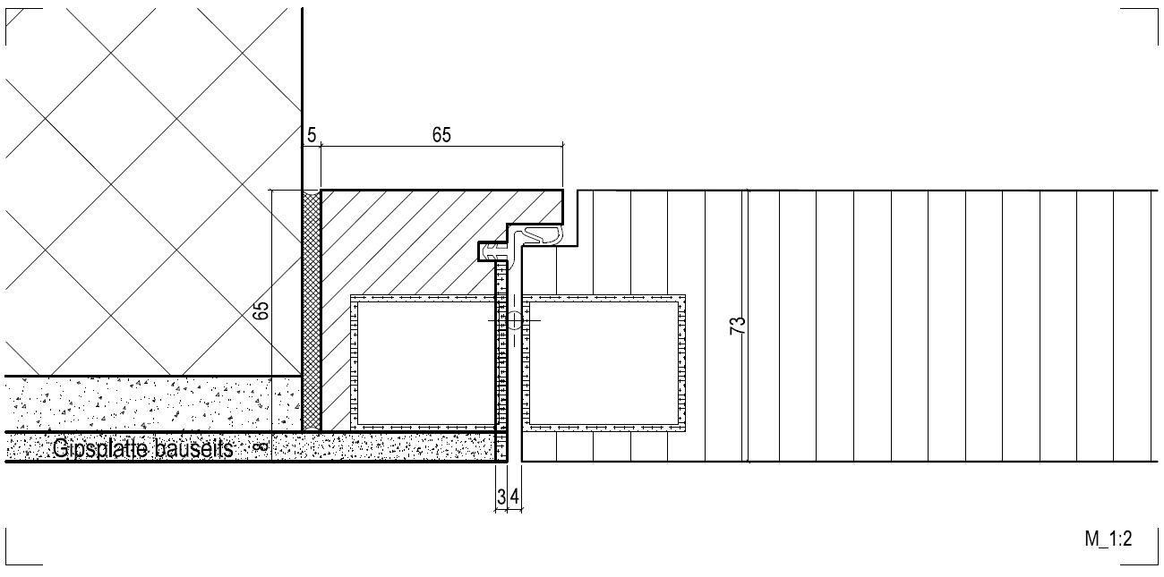 par recouvrement du cadre plaqu en mat riaux de cloison avec la fiche invisible la porte. Black Bedroom Furniture Sets. Home Design Ideas