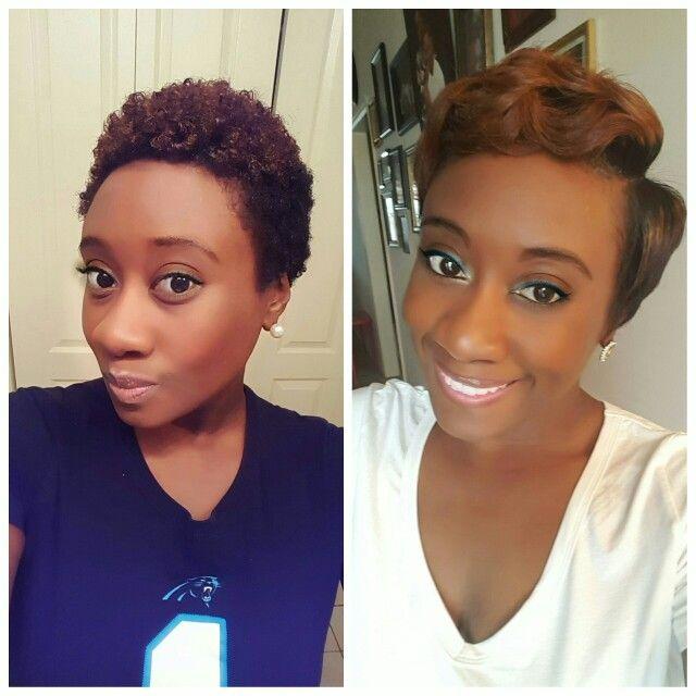 straightened twa hair straighteners