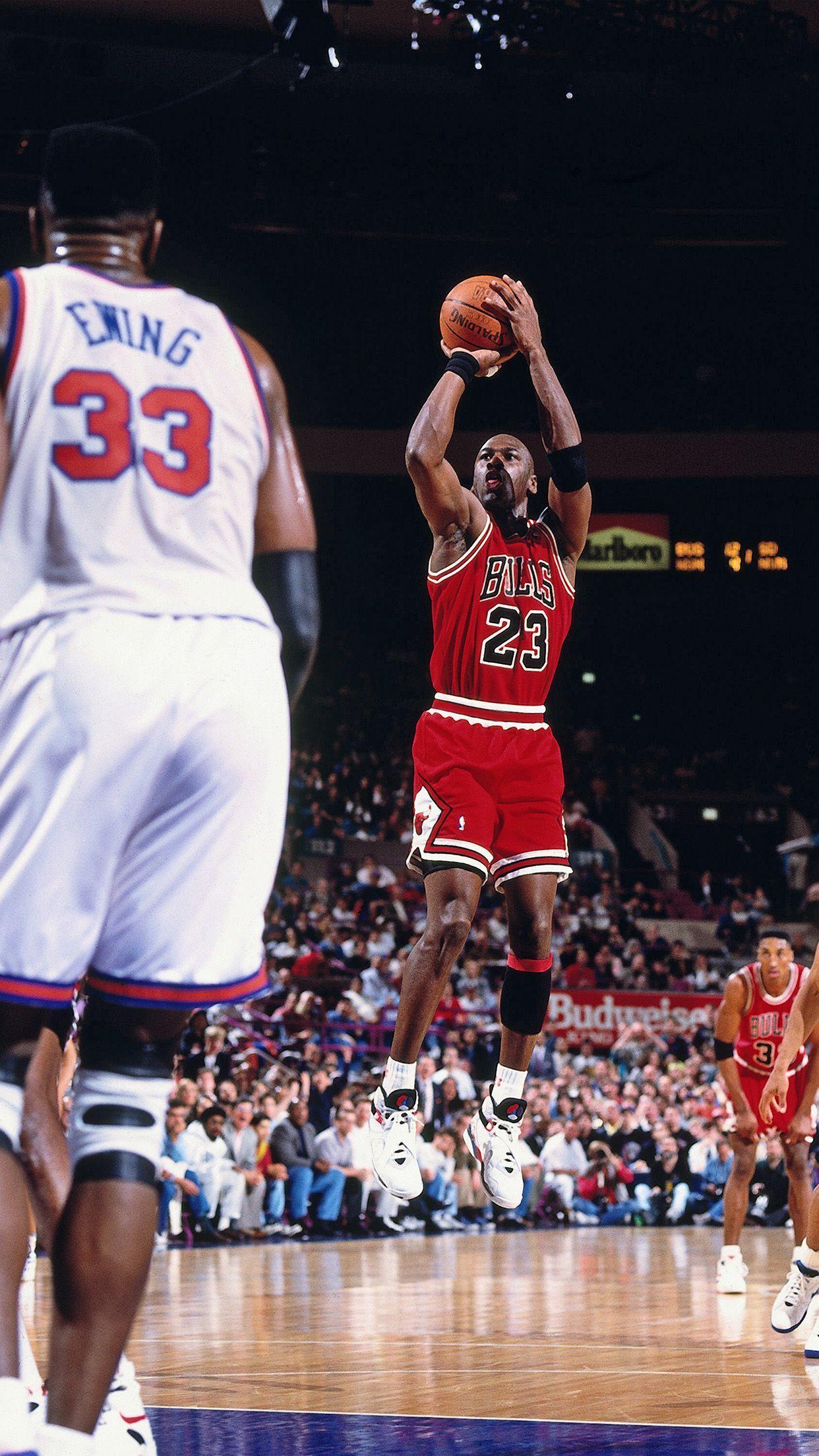 Cool Michael Jordan Hd Wallpaper voor iPhone wallpaper