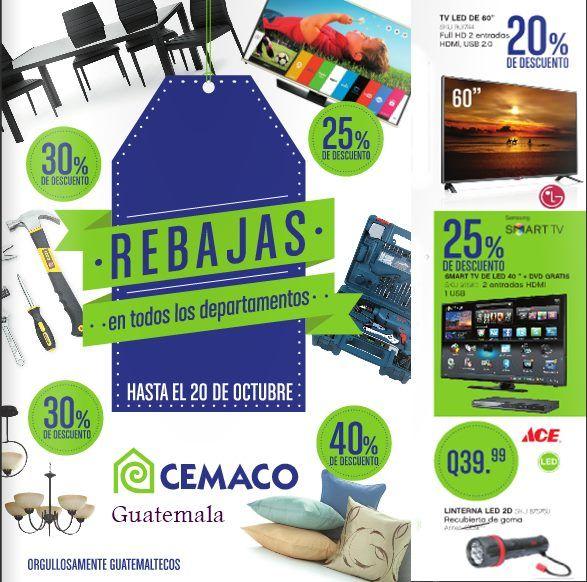 Rebajas Cemaco Guatemala Catalogo Hasta 20 Octubre 2015