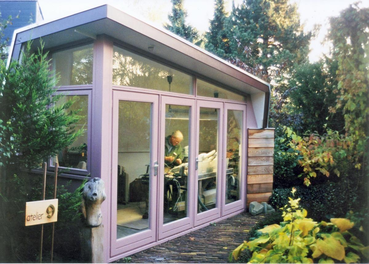 Luxe tuinhuisjes een tuinhuis onder architectuur for Kleine huizen bouwen