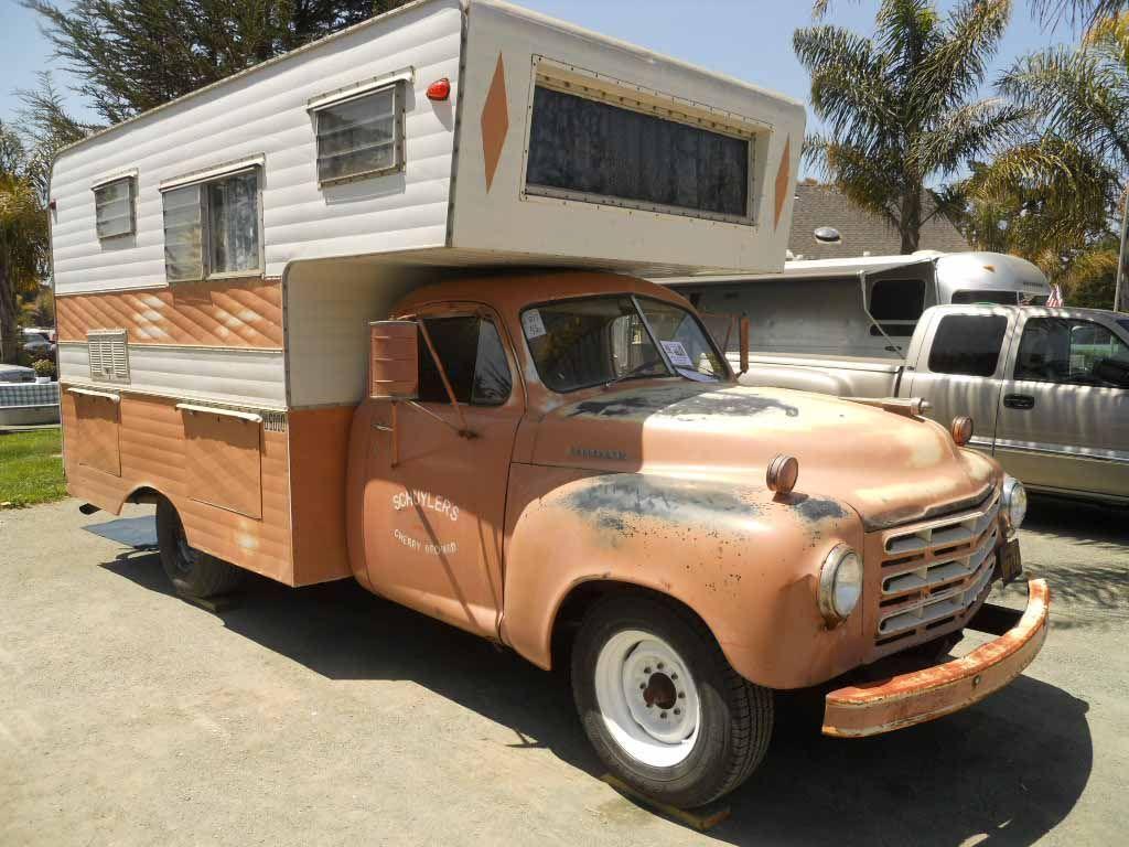 Vintage Truck Based Camper Trailers From OldTrailer