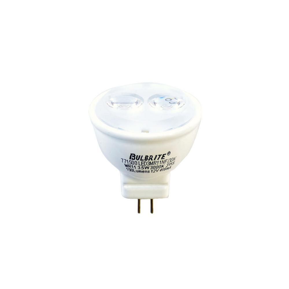 Bulbrite 20w Equivalent Soft White Light Mr11 Led Narrow Flood Light Bulb Mr11 Led Light Bulb White Light