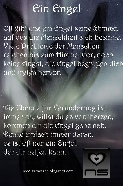 Ein engel gedicht
