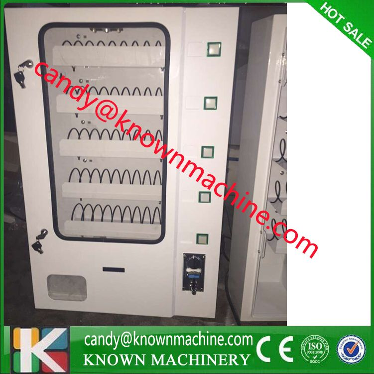 snack vending machine,candy dispenser with coin acceptor