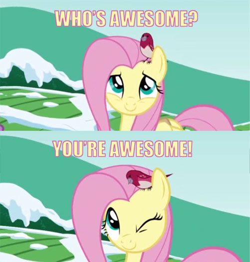 Oh You Giggle Fluttershy My Little Pony Friendship Brony