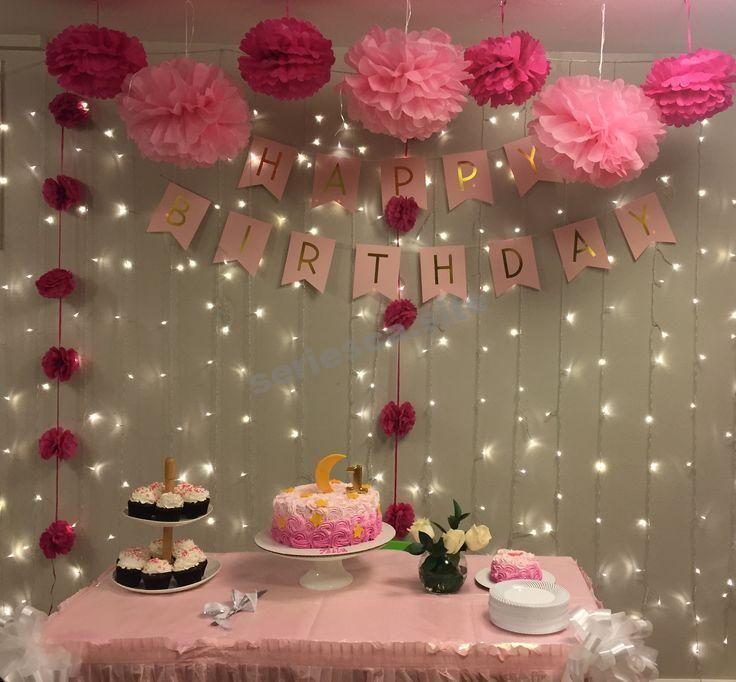 Deco Mesa Dulces Con Propones Y Luces Lluvia Geburtstag