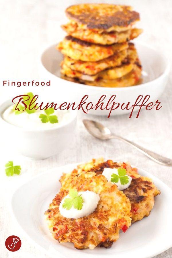 Photo of Blumenkohl-Puffer Rezept – Hausmannskost und Snack ganz raffiniert und schnell