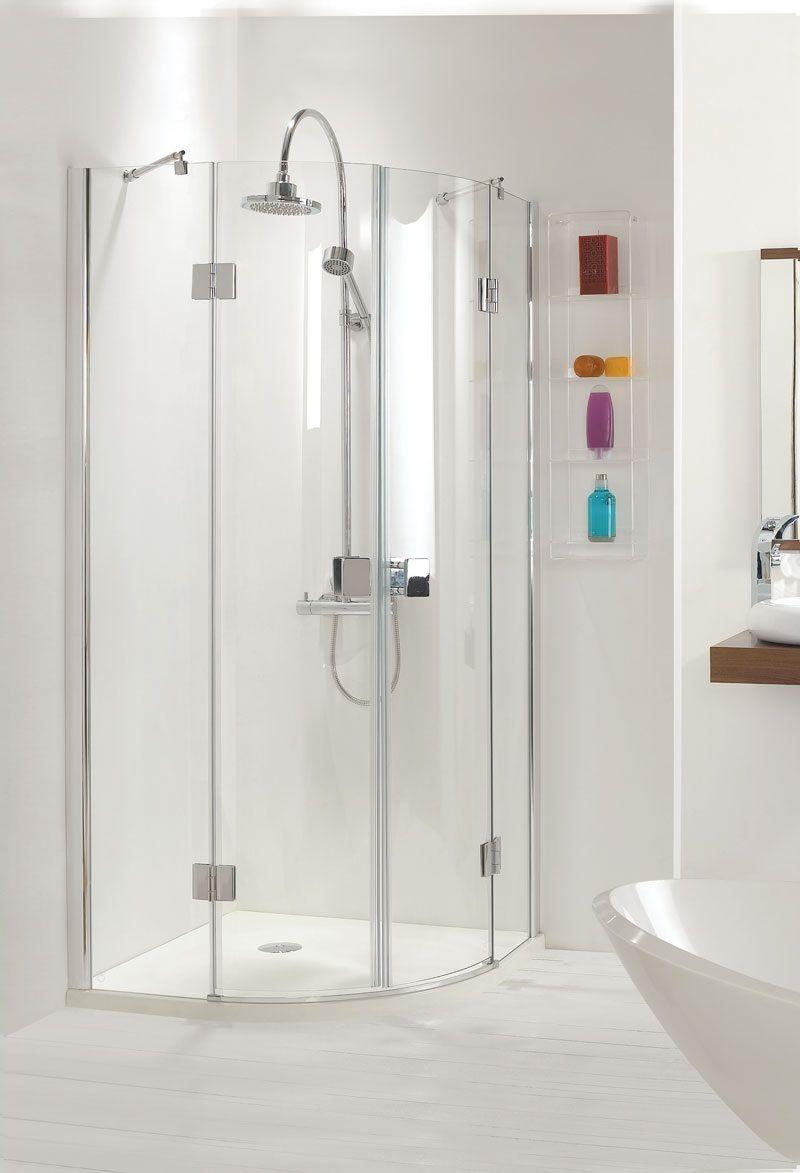 319 900 X 900 Hinged Quadrant 8mm Glass Shower Door Enclosure Bathroom Shower Enclosures Frameless Shower Enclosures Frameless Shower