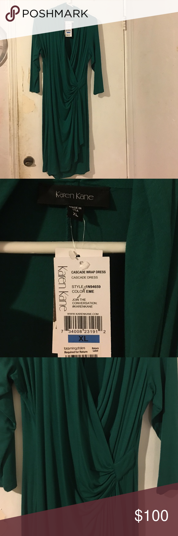 Karen Kane dress Authentic excellent condition brand-new never been worn smoke free home great for occasion Karen Kane Dresses Long Sleeve